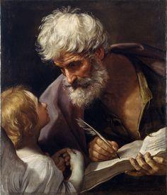 Гвидо Рени «Святой Матфей и ангел» ок. 1620