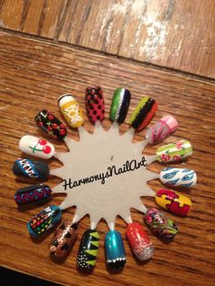 Nail wheel!! Best way to practice nail art. You can get a pack of 10-12 wheels on eBay for less than $3.