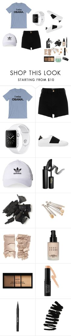"""My kinda outfit"" by nike-143 on Polyvore featuring River Island, Givenchy, adidas, INIKA, CC, Bobbi Brown Cosmetics, NYX, Sephora Collection, Stila and Garnier"