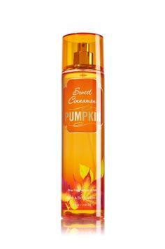 Sweet Cinnamon Pumpkin Fine Fragrance Mist - Signature Collection - Bath & Body Works