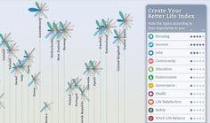 Stefaner's interactive map in action.