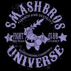 STAR CHAMPION 2 T-Shirt $12.99 Super Smash Bros tee at Pop Up Tee!