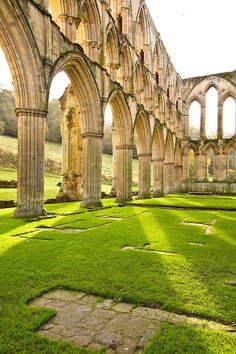 "ouratlas: ""Rievaulx Abbey - Yorkshire, United Kingdom """