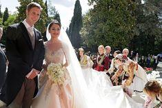 Royal Family Around the World: Albanie Wedding ceremony of Crown Prince Leka II to actress Miss Elia Zaharia in Tirana, Albania on October 8, 2016