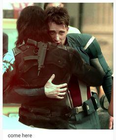 Come here. Let us hug.