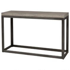 Console tables are the perfect addition to your hall, behind the sofa & more! See the latest modern console table styles in Canada at Urban Barn. Console Table Styling, Modern Console Tables, Urban Barn, Entryway Tables, Redstone, Sofa, Living Room, Cement, Lincoln
