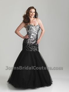 New Plus Size Prom for Spring 2013! Available in Black, Pink, and Turquoise.