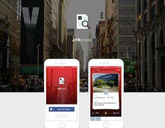 "Check out new work on my @Behance portfolio: ""JOBUntold App""…"