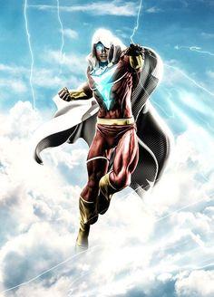Shazam Comic, Captain Marvel Shazam, Marvel Dc, Hawkgirl, Batwoman, Marvel Images, Arte Dc Comics, Dc Comics Characters, Anime Artwork