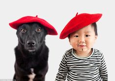 Oh, la la! The friends channel their inner Frenchmen in berets, with Jasper sporting a dra...