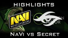 NaVi vs Secret Boston Major 2016 EU Highlights Dota 2
