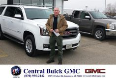 https://flic.kr/p/Enauaw | Happy Anniversary to Toby  on your #GMC #Yukon XL from Ronnie Nichols at Central Buick GMC! | deliverymaxx.com/DealerReviews.aspx?DealerCode=GHWO