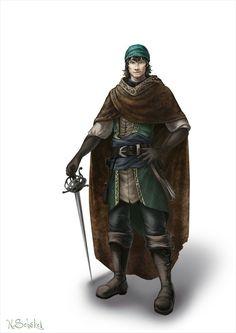 m Rogue Thief Cloak Rapier midlvl
