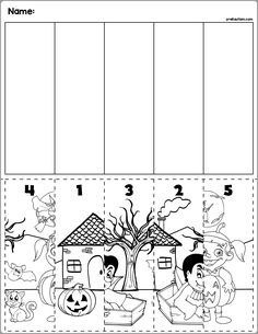 7 Puzzles for Kids Math Worksheets Halloween Scene Number Sequence Puzzles √ Puzzles for Kids Math Worksheets . 7 Puzzles for Kids Math Worksheets . Halloween Scene Number Sequence Puzzles in Halloween Worksheets, Halloween Math, Halloween Scene, Toddler Halloween, Halloween Crafts For Kids, Halloween Patterns, Thanksgiving Worksheets, Happy Halloween, Math Addition Worksheets