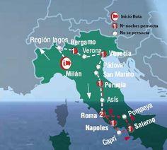 Oferta de viaje a Italia. Entra, informate y reserva el viaje Circuito de 7 dias por los PAISAJES DE ITALIA inicio en Milan