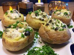 Bijgerecht: Gepofte aardappels met crème fraîche | Wessalicious