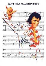 Elvis art - JOE PETRUCCIO- Can't Help Falling In Love