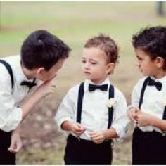 Ringbearers... Wedding ideas for brides, grooms, parents & planners ... https://itunes.apple.com/us/app/the-gold-wedding-planner/id498112599?ls=1=8 … plus how to organise an entire wedding ♥ The Gold Wedding Planner iPhone App ♥ http://pinterest.com/groomsandbrides/boards/