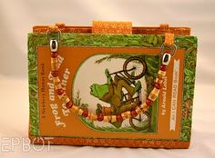 Recycled book purse