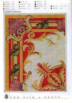Esquemas alfombras punto cruz - Pilar Garcia - Λευκώματα Iστού Picasa