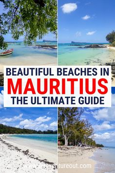 Looking for the most beautiful and unique beaches on Mauritius Island? This guide will show you a list of 25 lesser-known Mauritius beaches that are worth visiting!
