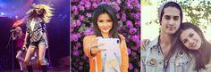 Victoria Justice comemorou a turnê que fará com o Big Time Rush com uma foto toda diva no palco. Victoria também posou muito fofa com um fundo cheio de flores lindas e com o amigo Avan Jogia.