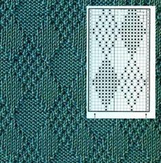 Узоры для вязания. Схемы.   ВКонтакте