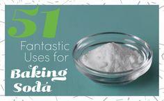51 Fantastic Uses for Baking Soda