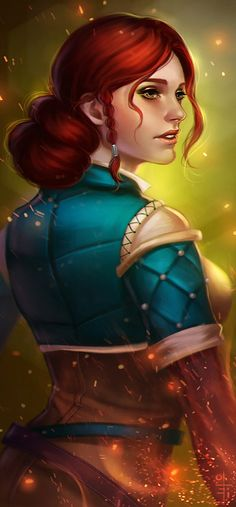 Triss by olei.deviantart.com on @DeviantArt