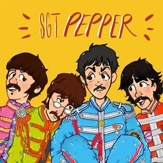 Beatles Band, Beatles Songs, Fanart, The White Album, Band Wallpapers, Sgt Pepper, Cool Bands, Great Bands, Lonely Heart