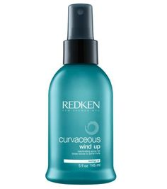 Redken Curvaceous Wind Up - Curly & Wavy Hair Reactivating Spray refreshes dry and/or damp curls and tames frizz throughout the day. Leave-in spray with a formula that recharges curls elasticity. Frizzy Hair, Wavy Hair, Curls Hair, Big Hair, Evening Curls, Redken Hair Products, Hair 24, Spiral Curls, Winter Hairstyles