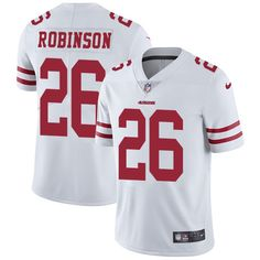 Youth Nike San Francisco 49ers #26 Rashard Robinson Limited White NFL Jersey