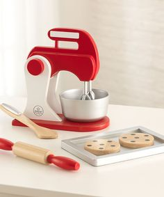 Great addition to a toddlers #play #kitchen #montessori. $10 off retail. Great gift. Kidkraft baking set.