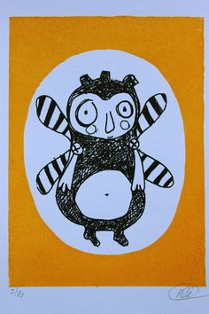 Gocco print. Nille Winther