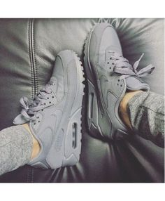 Cheap Hot Nike Air Max 90 Gray Space Trainer UK http://feedproxy.google.com/fashionshoes1