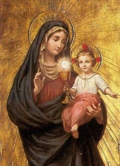 Mother of Christ & her Son Jesus