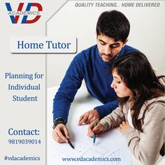 Personal Mentor at #VDAcademics helps to Discuss problem areas in #PCMB subject, Guide on regular basis, Preparing students for #Board #Exam and Competitive Entrance Exams Contact to Join VD: 9819039014 / 9867149134 Follow Us: https://www.facebook.com/vdacademics/