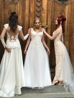 Backstage 2018 Weding Dress Viktorija Morozova Bridesmaid Dresses, Wedding Dresses, Backstage, Lace Wedding, Fashion Design, Bridesmade Dresses, Bride Dresses, Bridal Gowns