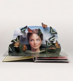 Neiman Marcus POP ~ up book.a love of fashion springs from the pages. Pop Up Art, Altered Books, Altered Art, Neiman Marcus, Origami Paper Art, Paper Crafts, Paper Engineering, Up Book, Baby Album