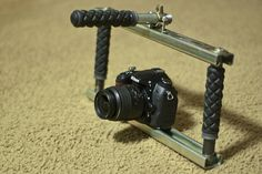 Cheesycam DIY DSLR Stabilizer Rig, via Flickr.