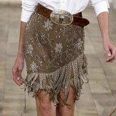 Gorgeous material with that belt  RL Spring 2011