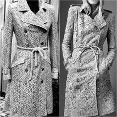 #Тренчеман #trenchcoat #isew #replica #burberry #lace #cotton #patternmaking  #coatmaking#sewingblogger#homeatelier #sewingaddict #lovetosew #sewing #fabricmanipulation #style #fabric #blackandwhite #jas #naaien #kant #индпошив #реплика #шьюсама #шитьё #тренч #кружево #деталиодежды #ателье