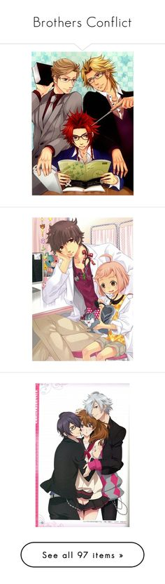 """Brothers Conflict"" by myamane ❤ liked on Polyvore featuring anime, brocon and reverseharem"