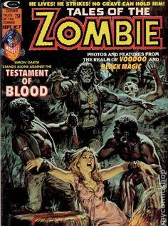 TALES OF THE ZOMBIE 7, BRONZE AGE MARVEL COMIC MAGAZINE