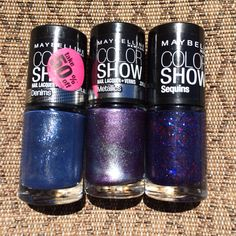 L-R: Styled Out, Amethyst Ablaze, Sapphire Masquerade