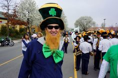St. Patrick's Day History For Middle School.  Sun Shines For 30th Annual City Of Dublin St Patricks Day Parade