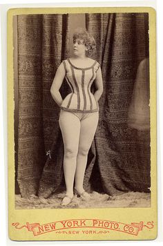 Fascinating Photos of 19th Century Vaudeville and Burlesque Performers: Rose Hamilton, 1890. From the Charles H. McCaghy Collection of Exotic Dance from Burlesque to Clubs. Courtesy of Ohio State University, Jerome Lawrence and Robert E. Lee Theatre Research Institute
