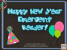New Year emergent reader freebie!
