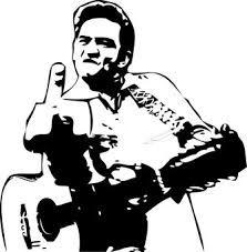 johnny cash stencil - Google Search