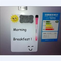A4 Flexible Magnetic Writing Board With Erase Marker Set High Quality Fridge Magnet Removable Home Message Memo Bulletin Board